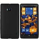 mumbi Hülle kompatibel mit Nokia Lumia 930 Handy Hülle Handyhülle, schwarz