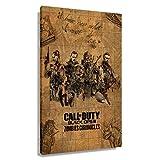 Call of Duty Black Ops 3 - Póster de juego de crónicas de COD Zombies (60 x 90 cm), enmarcado