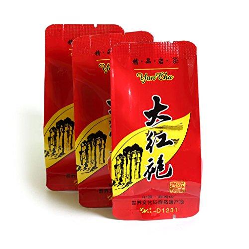 GOARTEA 25Pcs*8g Organic Supreme Da Hong Pao Dahongpao Big Red Rob FuJiane Wuyi Mountain Rock Chinese Oolong Tea Tee