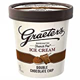 Graeter's - Handcrafted, French Pot Ice Cream - Double Chocolate Chip, Pint (8 count)