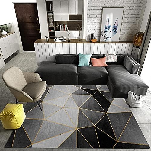 Anti-Wear Parloures Tapijt Grijs Woonkamer tapijt grijs klassieke driehoek moderne antibiotica tapijt duurzame duurzame home decor Tapijt 160x230cm 5ft 3X7ft 6.6
