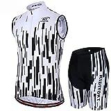 Summer Cycling Jersey - Hochelastisches, atmungsaktives Mountain Sportswear 3D-Hosenpolster -