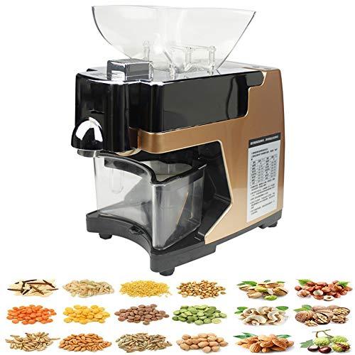 Almazara Prensa de aceite frío/caliente Batería de cocina Prensa de aceite Se utiliza en semillas...