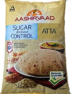 Aashirvaad Sugar Release Control Low GI Natural Grain Mix Atta - 1 kg. (1,000 Grams)