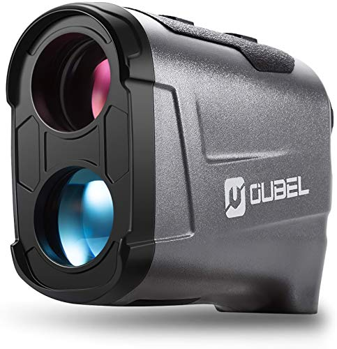 OUBEL Golf Entfernungsmesser, Jagd Entfernungsmesser, 800/1200 Yard Laser Entfernungsmesser mit Neigungsberechnungsfunktion, Fahnenmastverriegelung, Vibration, kontinuierliche Messfunktion