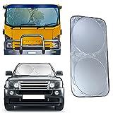 Auto-Fenstervorhang, UV-Schutz, faltbar, Hitzeschutz für LKW, Van, Auto, Frontscheibe, Visierschutz