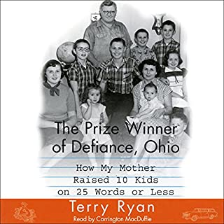 The Prize Winner of Defiance, Ohio audiobook cover art