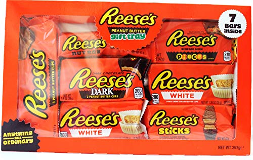 Reese's Peanut Butter Chocolate 7Pc Gift Selection Box 297g