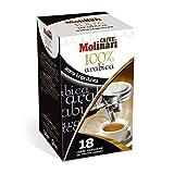 Desconocido Caffè MOLINARI - Espresso 100% Arabica - 3 x 18 monodosis de cafés Espresso E.S.E 44mm (Total: 54 monodosis) envasadas Individualmente