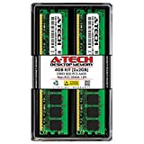 A-Tech 4GB (2x2GB) DDR2 800MHz DIMM PC2-6400 1.8V CL6 240-Pin Non-ECC UDIMM Desktop RAM Memory Upgrade Kit