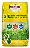 [page_title]-Substral 3 in 1 Komplett Rasendünger mit Unkrautvernichter und Moosvernichter, 14 kg für 400 m²