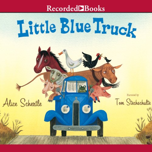 Little Blue Truck audiobook cover art