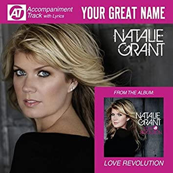 Your Great Name (Accompaniment Track)