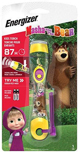 Energizer - Linterna de Mano Infantil Masha y el Oso