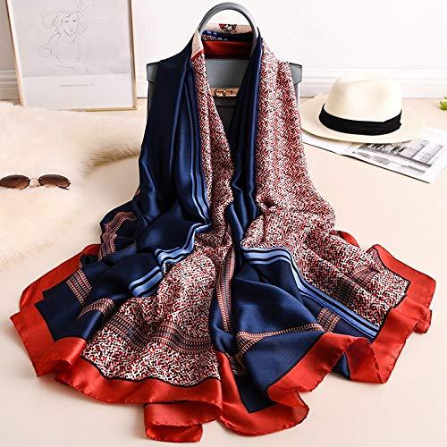 Vcnhln Bufanda de Moda de Primavera y Verano mantón de Mujer Protector Solar Toalla de Playa Bufanda Turbante Suave