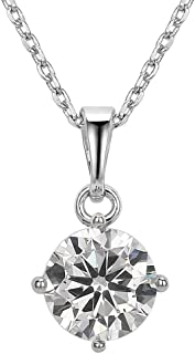 Best diamond solitaire pendant necklace Reviews