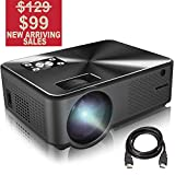 Best Hd Projectors - Projector, BARZAA Video Projector 4200Lux, Full HD Projector Review