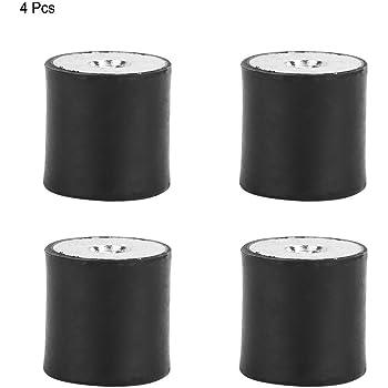 Supporto in gomma antivibrazione supporto in gomma con filettatura femmina 4 pezzi Supporti in gomma antivibrazione Serranda isolatore della bobina DE40*20 M8
