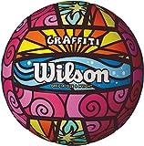 Wilson Graffiti Volleyball- Pink/Blue/Yellow