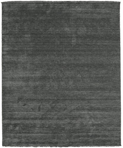 CarpetVista Alfombra Handloom Fringes - Gris Oscuro 250x300 Alfombra Moderna