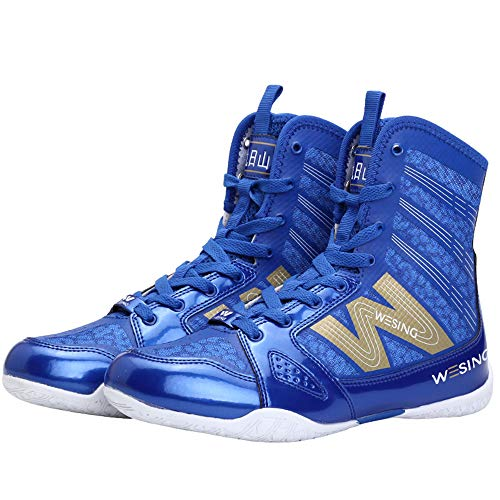Wesing Unisex Pro Kickboxing Footwears Training Shoes...