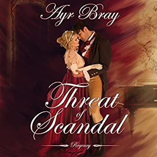 Threat of Scandal audiobook cover art