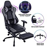 Best Computer Chairs For Gamings - VON RACER Massage Gaming Chair - High Back Review