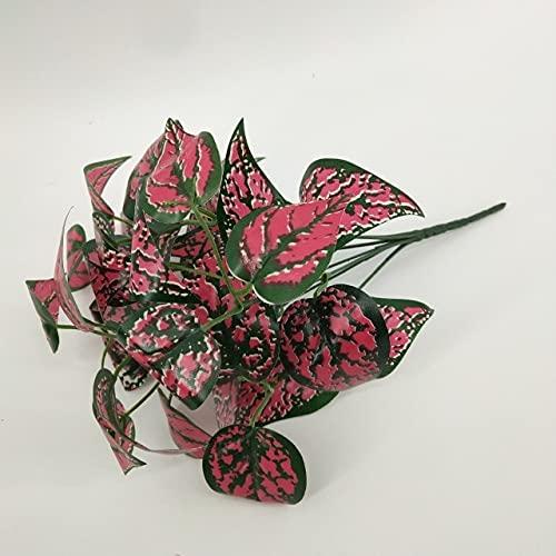 QAZWSXE Estilo Chino Chimonanthus Praecox Flor Flores Artificiales Flor de Ciruelo decoración del hogar Boda Flor de Ciruelo Flor Falsa