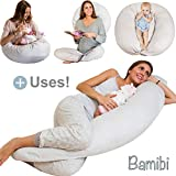 Almohada Embarazada Multifuncional, Cojín Lactancia Bebé, Cama Nido Bebé +...