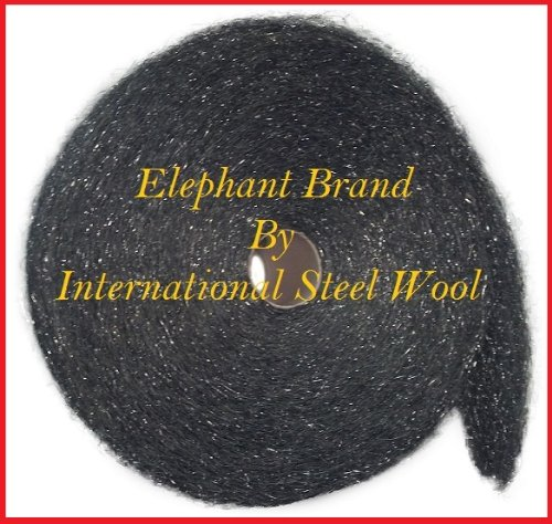 Case of Medium Stainless Steel Excellence Cheap mail order shopping Wool x 25lbs Rolls 5lb 5