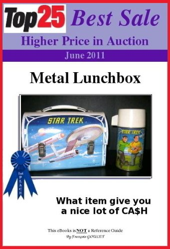 Top25 Best Sale Higher Price in Auction - METAL LUNCHBOX (English Edition)