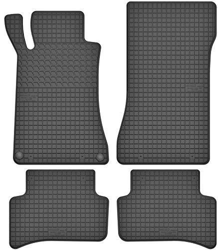 Motohobby Gummimatten Gummi Fußmatten Satz für Mercedes-Benz C-Klasse W203 (2000-2006) - Passgenau