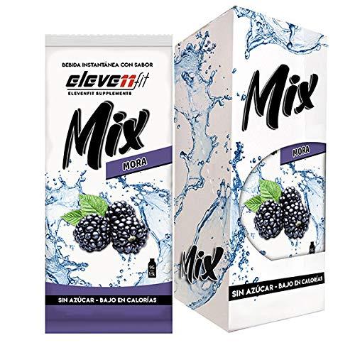 Eleven Fit Caja 12 Uds Mix Sabor Mora Sin Azúcar 100 g