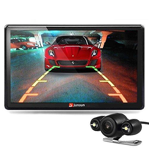 Junsun Navigationsgerät, 7Zoll (17,8cm) 8GB/256MB, kapazitives Display, kostenlose Kartenupdates