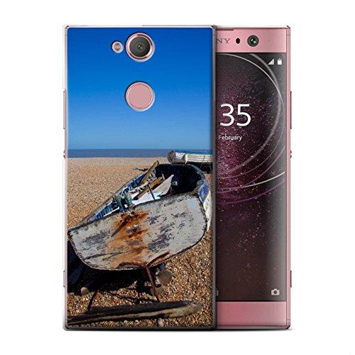 Stuff4 Phone Case/Cover/Skin/SXP-CC/British Coast Collection Sony Xperia L2 Oude boot
