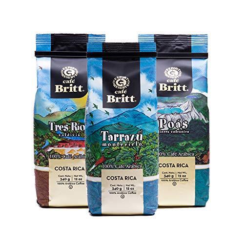 Café Britt - Costa Rican Origins Coffee Bundle