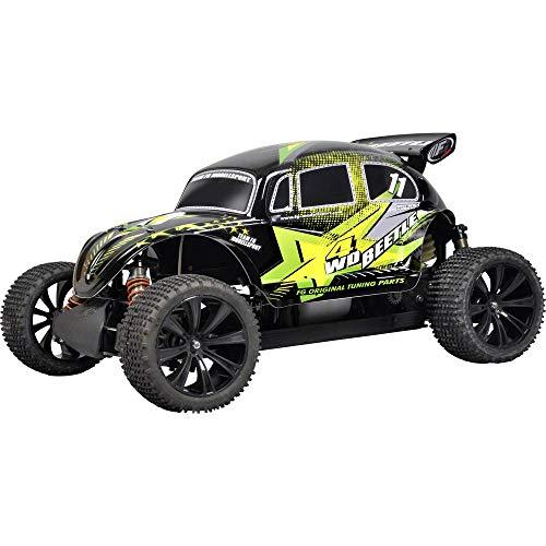 FG Modellsport Beetle Pro 1:6 RC Modellauto Benzin Buggy Allradantrieb (4WD) RTR 2,4 GHz inkl. Akku, Ladegerät und Sende