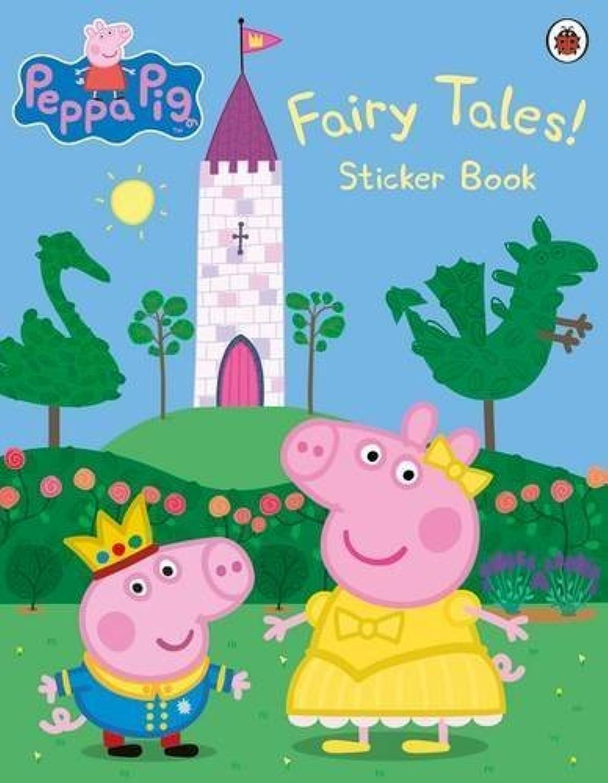 Peppa Pig Fairy Tales An Oversize Sticker Book