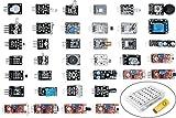 Jaybva 37 in 1 Sensor Module Kit Sensor Kit for Arduino Starters DIY Raspberry Pi Mega2560 UNO R3 Nano Including Tutorial in USB Flash Driver 2017 New Upgraded