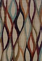 Oriental Weavers Adrienne 4178B Area Rug 3'10 x 5'5 [並行輸入品]