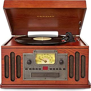 Crosley Radio Musician Turntable with CD/Cassette Player, Paprika (B001W6WN3S) | Amazon price tracker / tracking, Amazon price history charts, Amazon price watches, Amazon price drop alerts