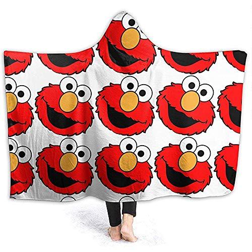 BLANKNTC Plüsch Couch Decke,Flanell Warme Decke,Flauschige Kuscheldecke,Elmo Ultra Soft Velvet Bed Warme Decke Für Bett,Couch,Büro,Schule,Wohnzimmer M