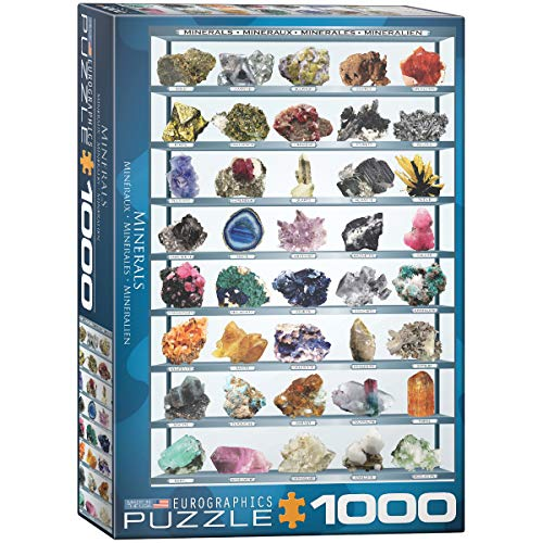 EuroGraphics Minerals of The World 1000 Piece Puzzle (6000-2008)