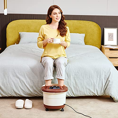 ACEVIVI Foot Spa with Motorized Massager