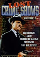 Lost Crime Shows 2 [DVD] [Import]