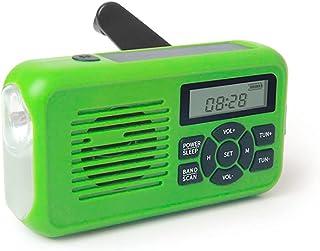 GJHK PRÉVISION Portable Portable DE PRÉVENTION Portable Radio Multifonctionnel Solaire DE Classe DE CLASSEMENT Solaire NOA...
