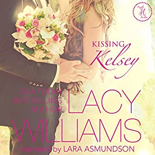 Kissing Kelsey audiobook cover art