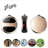 GPS Tracker, TKSTAR Mini Tiempo Real GPS Tracker GPS Localización gsm/GPRS/GPS Locator para Niños ältliches Mascotas Gatos Perro Vehículo Auto Camión o Cosas con Libre App