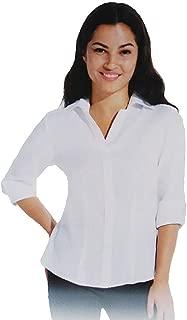 NYC Women's 3/4 Sleeve Linen Shirt