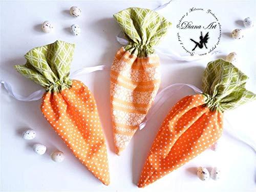 Ostern Geschenk Box Möhre, Karotte Beutel, Baumwoll-Rucksack, Kinder Rucksäcke, helle Farbe Tasche, Rucksack Obst, Obst Tasche